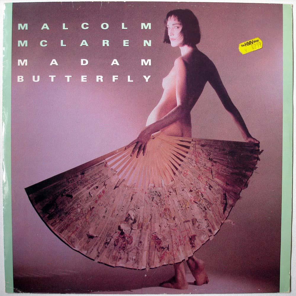Malcolm McLaren / Madam erfly / Apiento Edit / Test Pressing