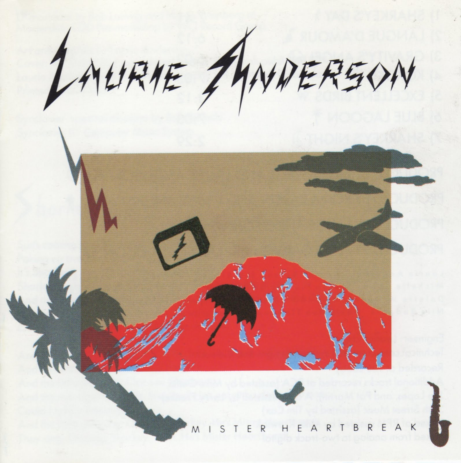 Laurie Anderson & Peter Gabriel / Excellent Birds / Apiento Edit