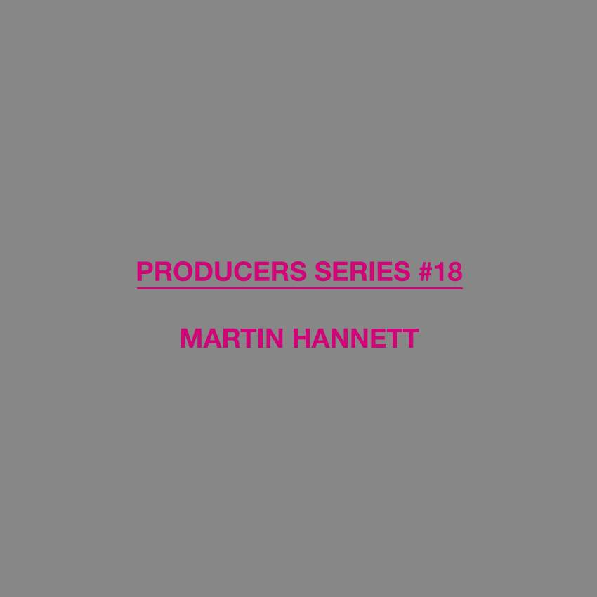 Producers Series, Test Pressing, Dr Rob, Martin Hannett, Front