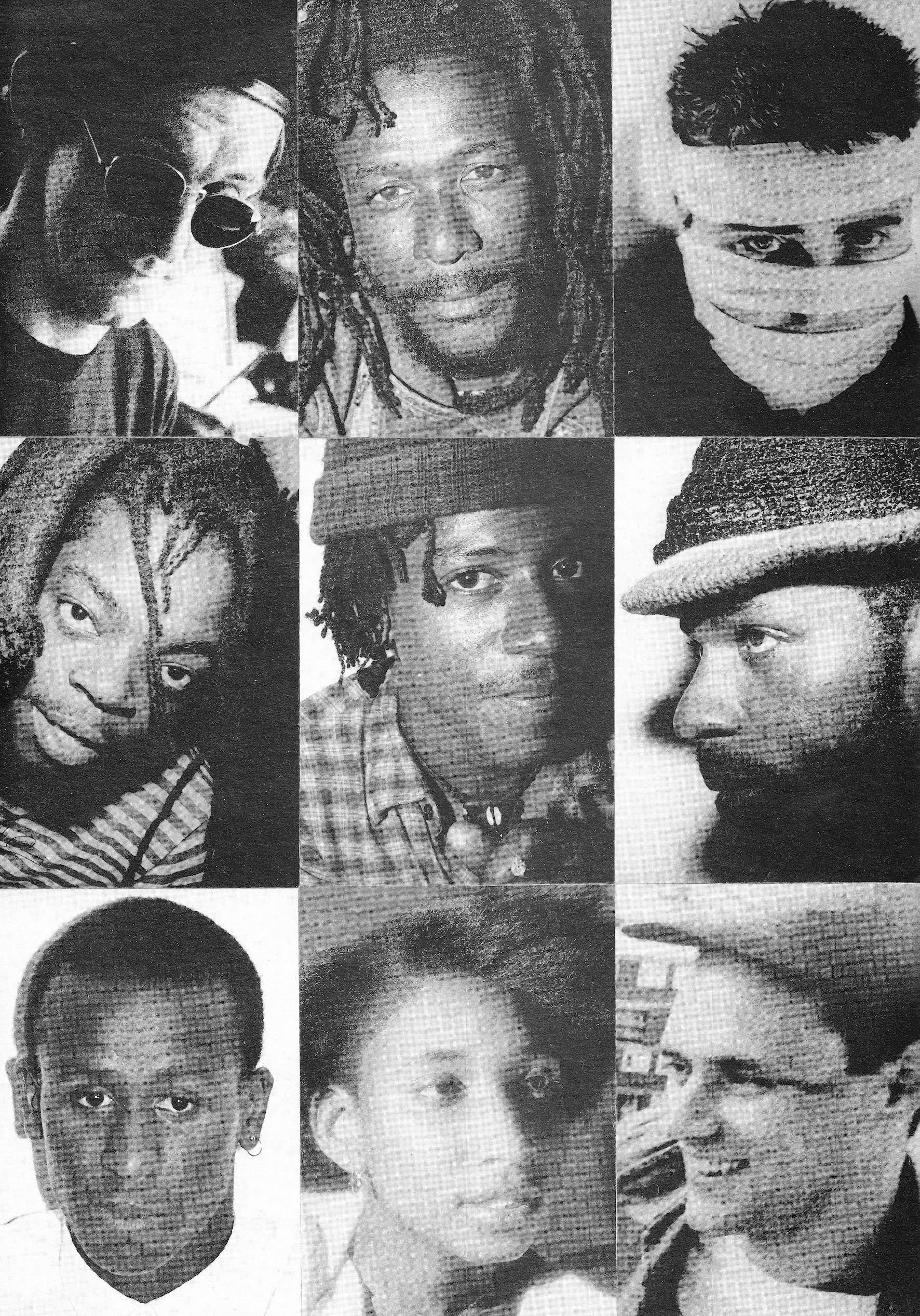 Dr Pablo / Congo Ashanti Roy / Gary Clail / Crucial Tony / Dan Sheals / Shara Nelson / Kendall Ernest / Mr Magoo / Style Scott