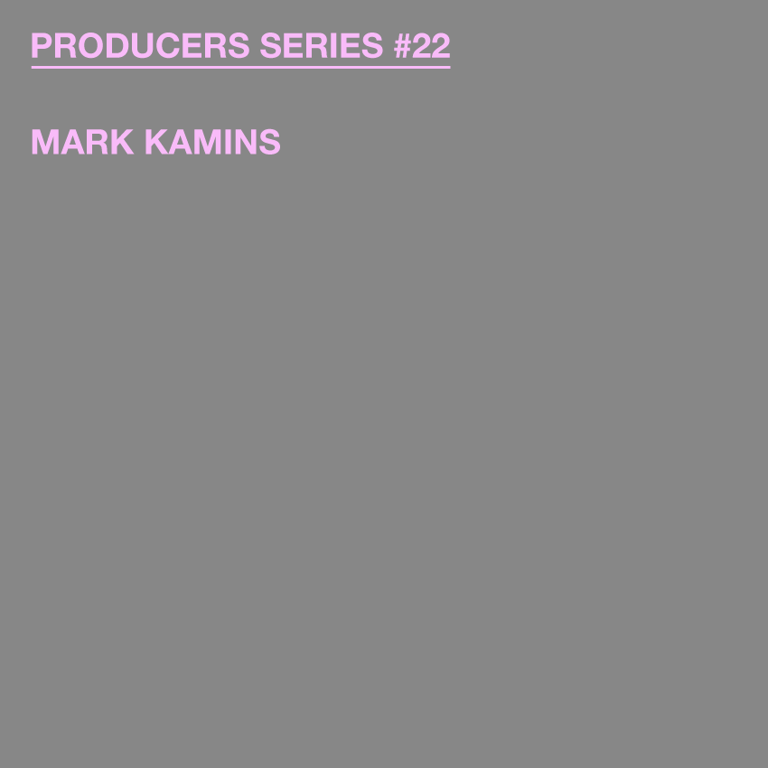 Test Pressing, Producers Series, Dr Rob, Mark Kamins