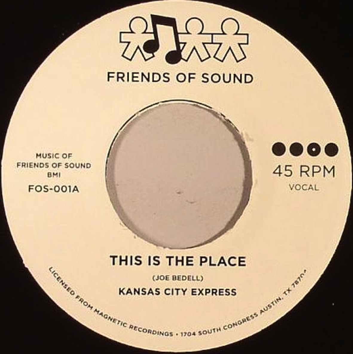 Test Pressing, On The Rebound, Dr Rob, Kansas City Express, This Is The Place, Friends Of Sound, Magnetic Recordings