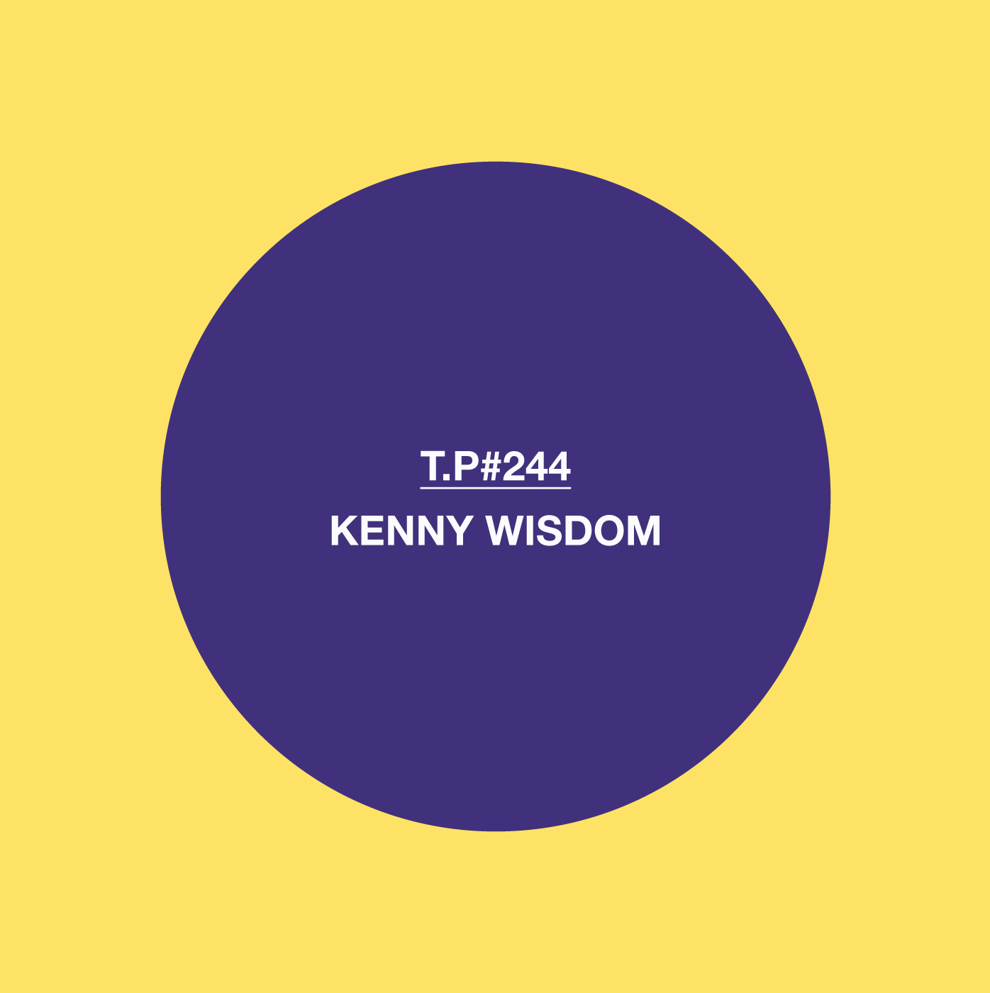 Kenny Wisdom, Test Pressing, Mix, Balearic, Disco, Afro, Electronic