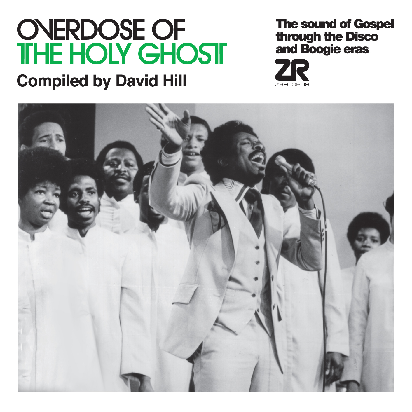 David Hill, Overdose Of The Holy Ghost, Ze Records, Gospel, Disco, Boogie, Compliation