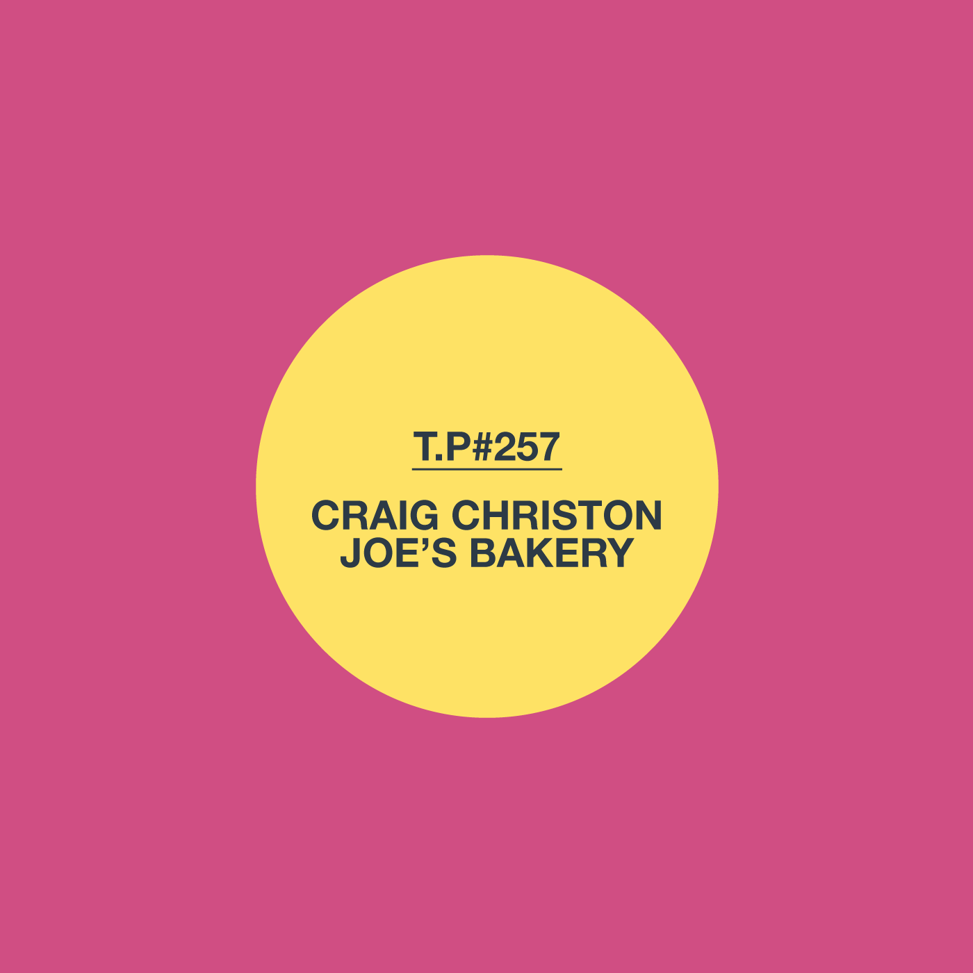Craig Christon, Mix, Test Pressing, Joe's Bakery, Outlaws Yacht Club