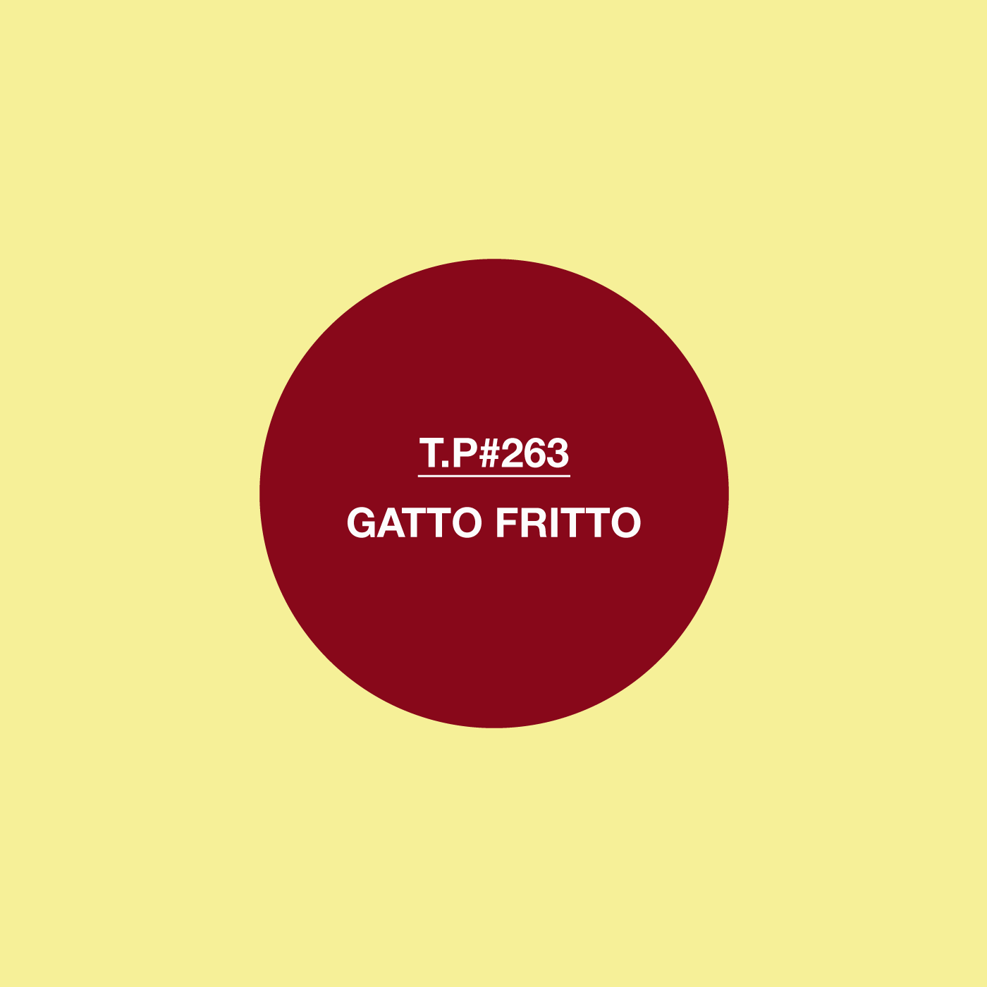 Gatto Fritto, Mix, Test Pressing, Balearic, Disco, Kraut, Post-Punk, Straight Edger