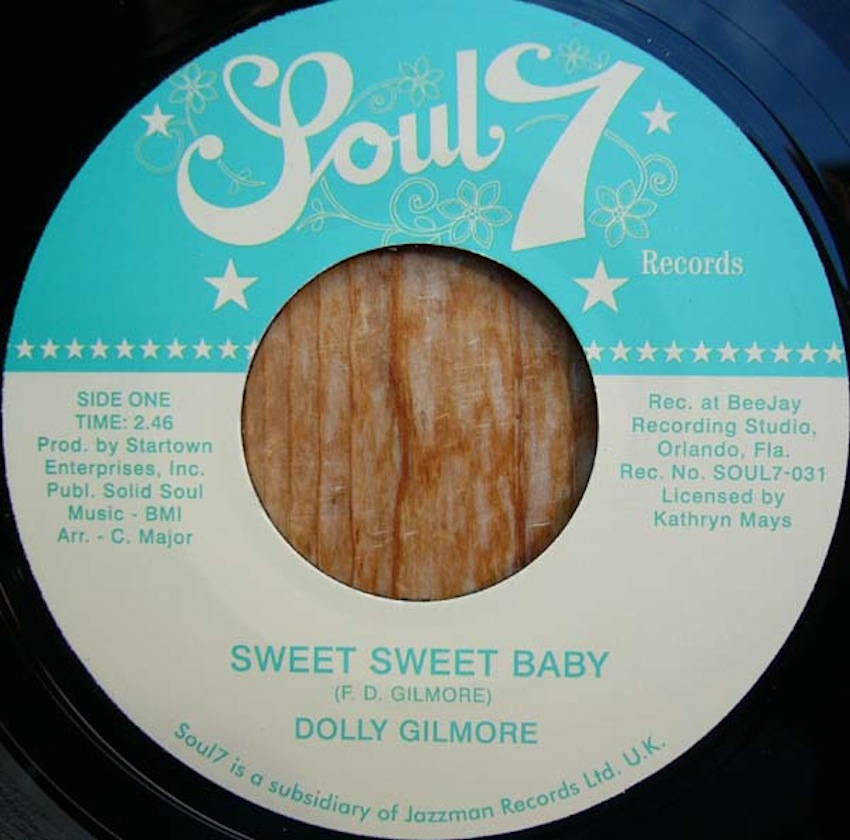 Test Pressing, Tracks, Dolly Gilmore, Sweet Sweet Baby, Soul 7, Jazzman