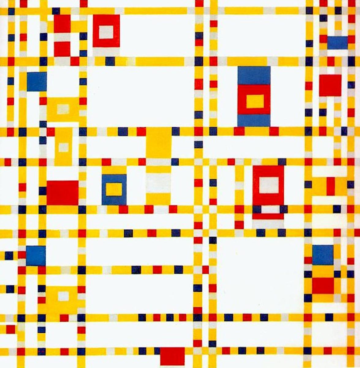 Mondrian, Broadway Boogie-Woogie