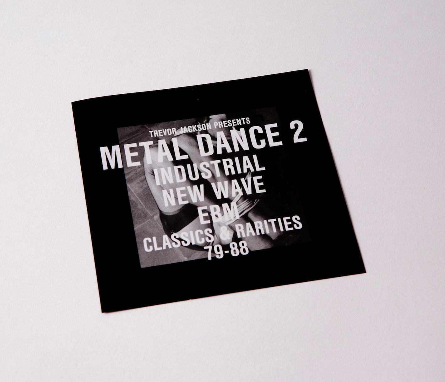 Trevor Jackson, Metal Dance 2, Strut, Review, Test Pressing