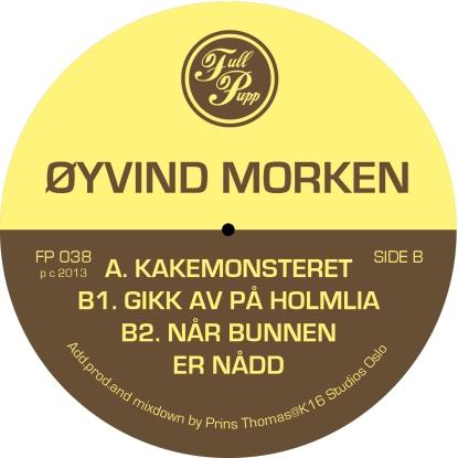 Øyvind Morken, Full Pupp, Release, Test Pressing