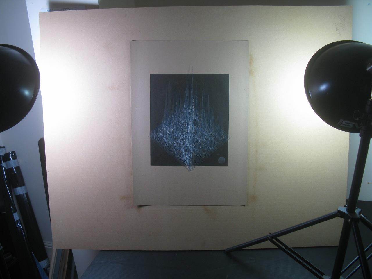 Test Pressing, Art, Dr Rob, Glass Siren Studio, Glitch #31, Damon Roberts