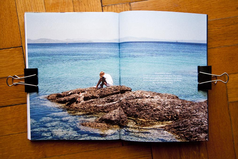 Chris Kontos, Kennedy Magazine, bi-annual, Test Pressing