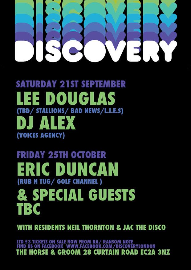 Lee Douglas, Alex Voices. Eric Duncan, Test Pressing,