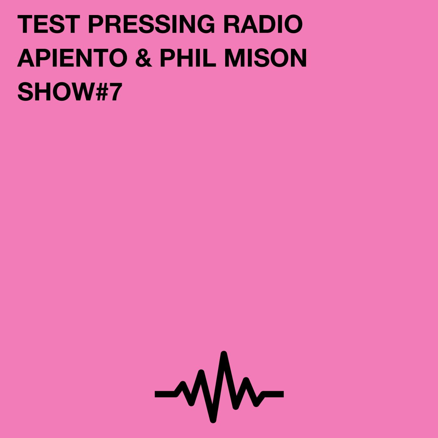 Test Pressing, Podcast, Radio, Phil Mison, Apiento, Paul Byrne