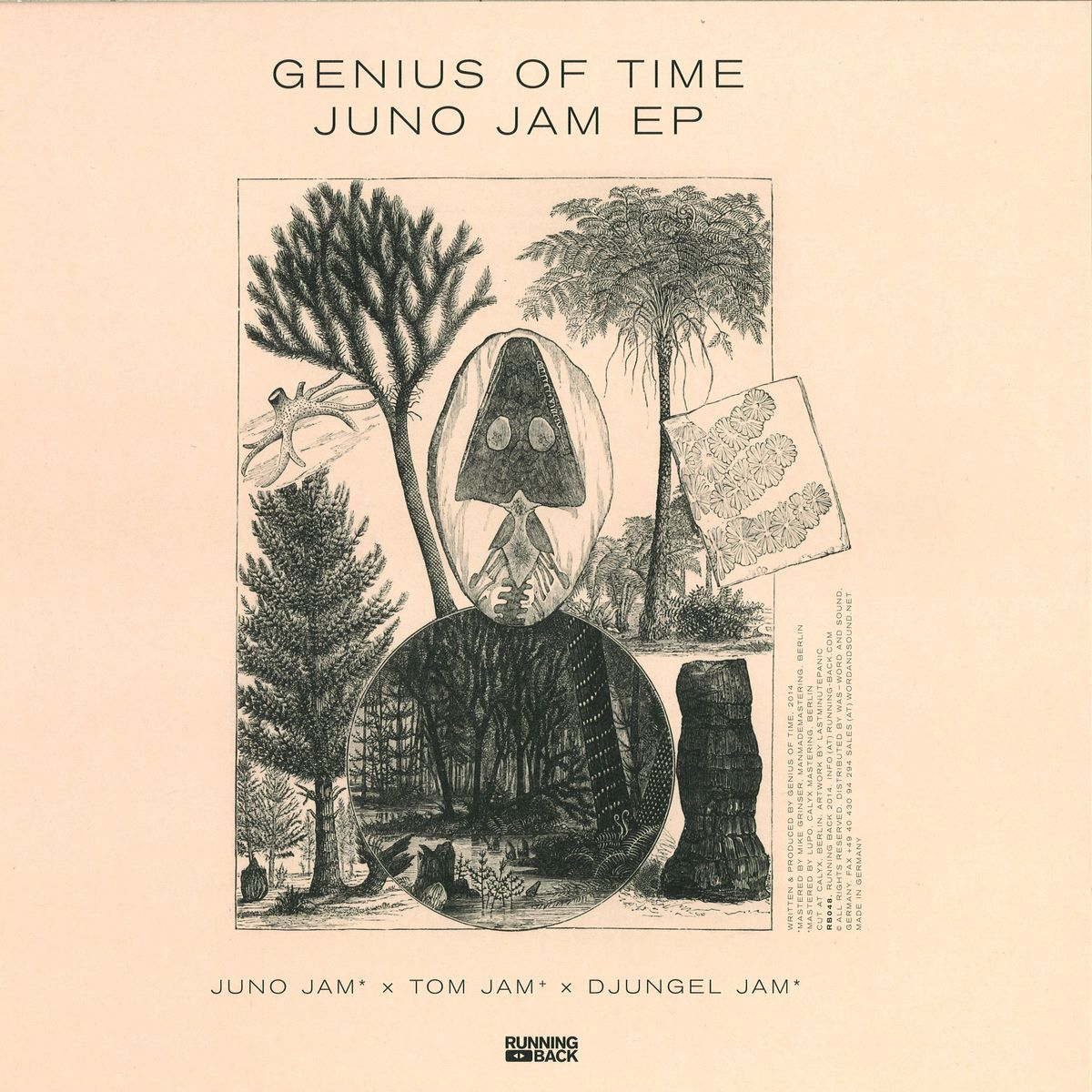 Genius Of Time, Test Pressing, Running Back, Review