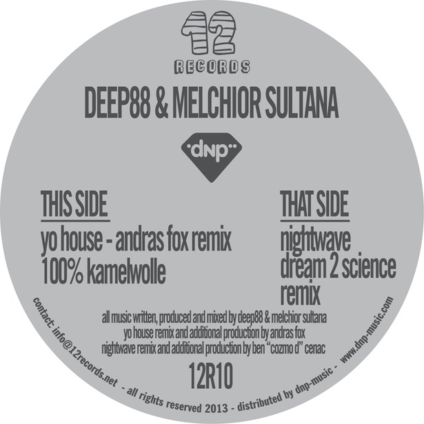 Test Pressing, Reviews, Dr Rob, Andras Fox, Ben Cenac, Dream 2 Science, Deep 88, Melichor Sultana, Nightwave Remixes, 12 Records