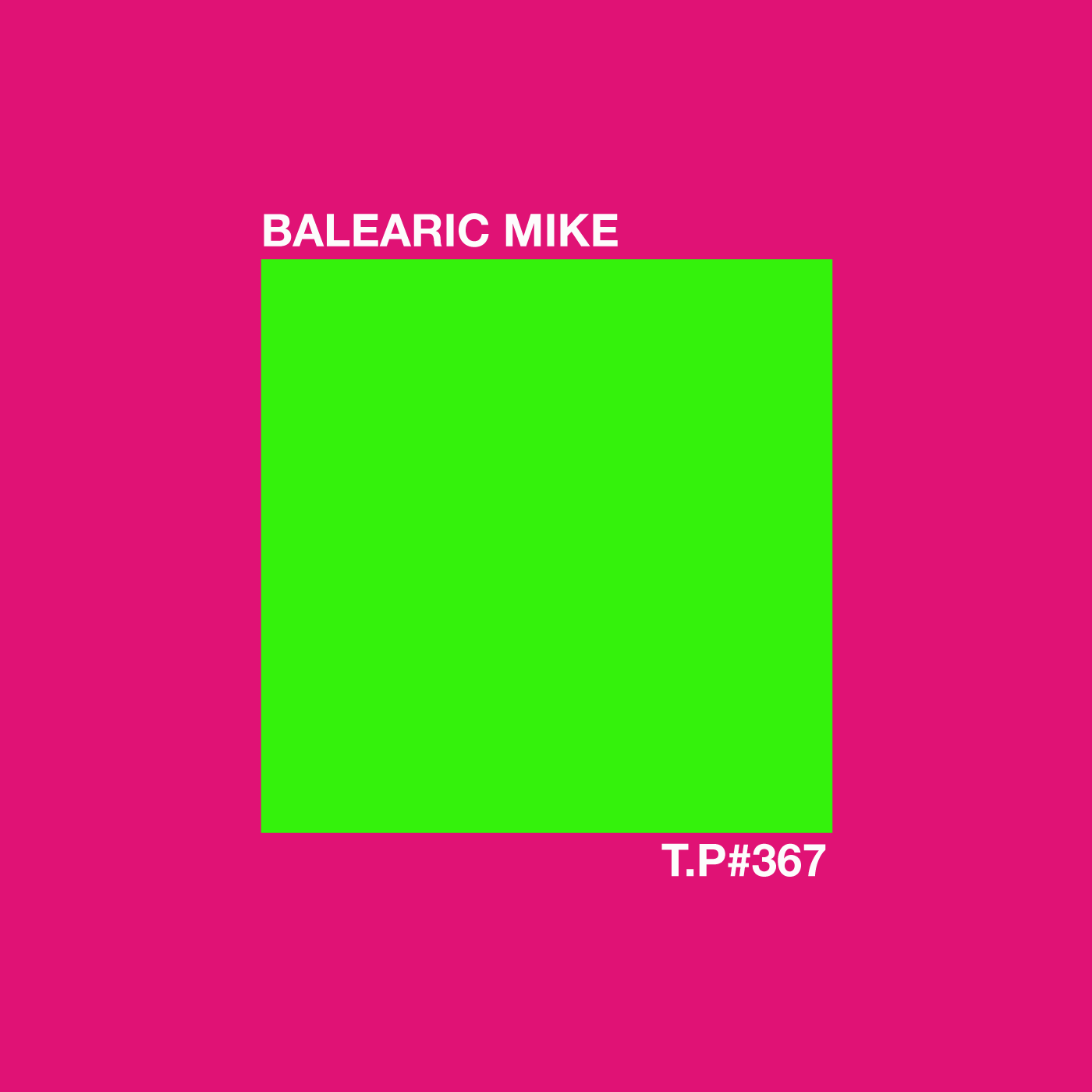 Balearic Mike, DJ, Down To The Sea & Back, Album, Balearic, Mix, Test Pressing