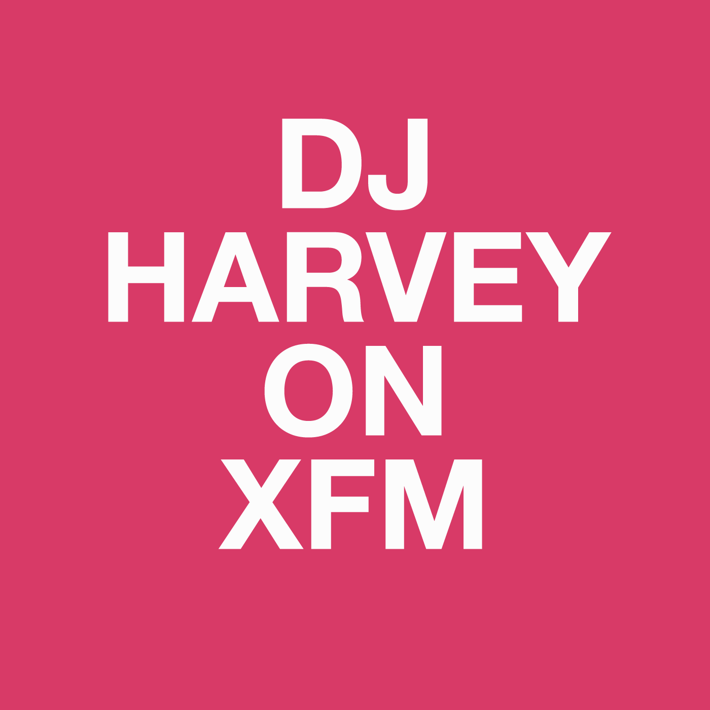 Dj Harvey, XFM, Nuphonic, Radio, Disco, Show