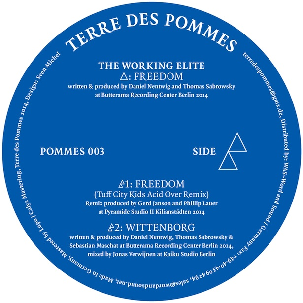 Test Pressing, Reviews, Dr Rob, Terre Des Pommes, Running Back, Working Elite, Tuff City Kids