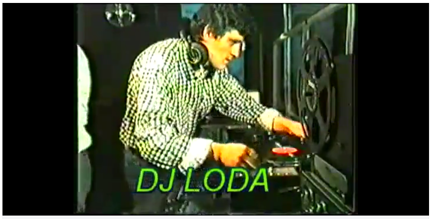 Cosmic, Disco, balearic, DJ Parade, Italy, Booth, dj stars, 1986, dj mozart, rubens, spranga, loda, fattori, pery, meo, fary, zaira,  maselli, altomare, massimo, riva, luca, piraccini,