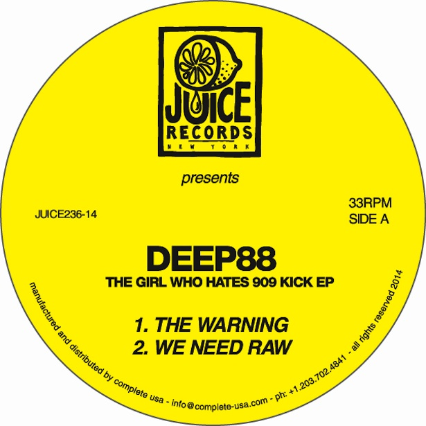 Test Pressing, Review, Dr Rob, Deep88, Berlin, Italy, 12Records, Juice Records, The Girl Who Hates 909