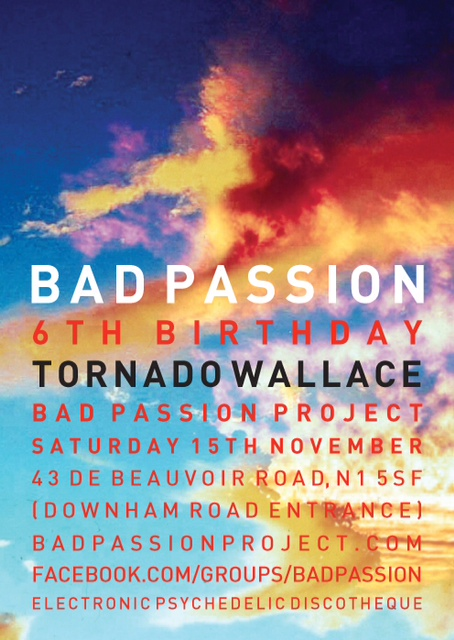 Bad Passion, Mix, Chris, Andy, Mix, Test Pressing, Tornado Wallace