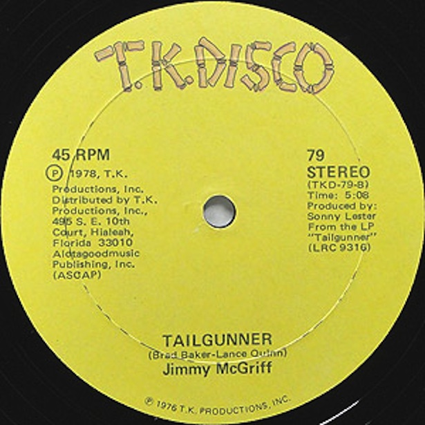 Test Pressing, Review, Dr Rob, Jimmy McGriff, Out Of The Box, Tailgunner, T.K. Disco