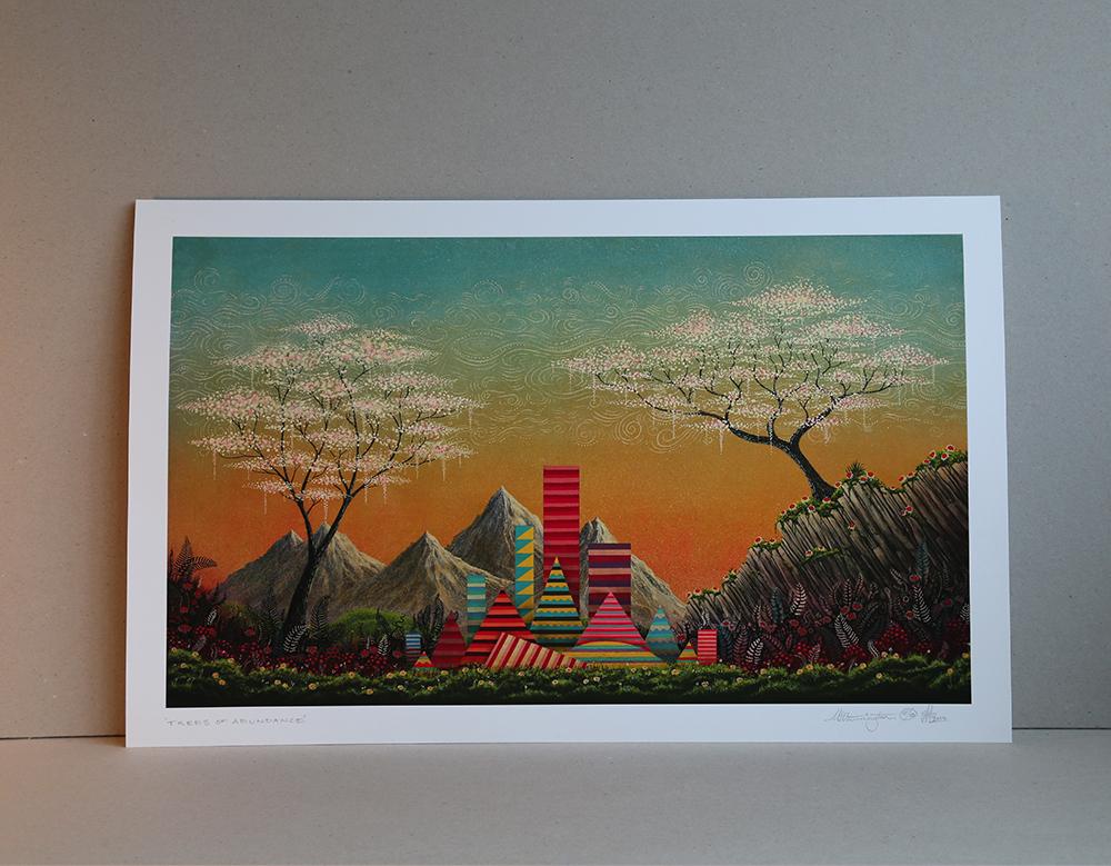 Mark Warrington, Illustrator, Artist, Claremont 56, Shop