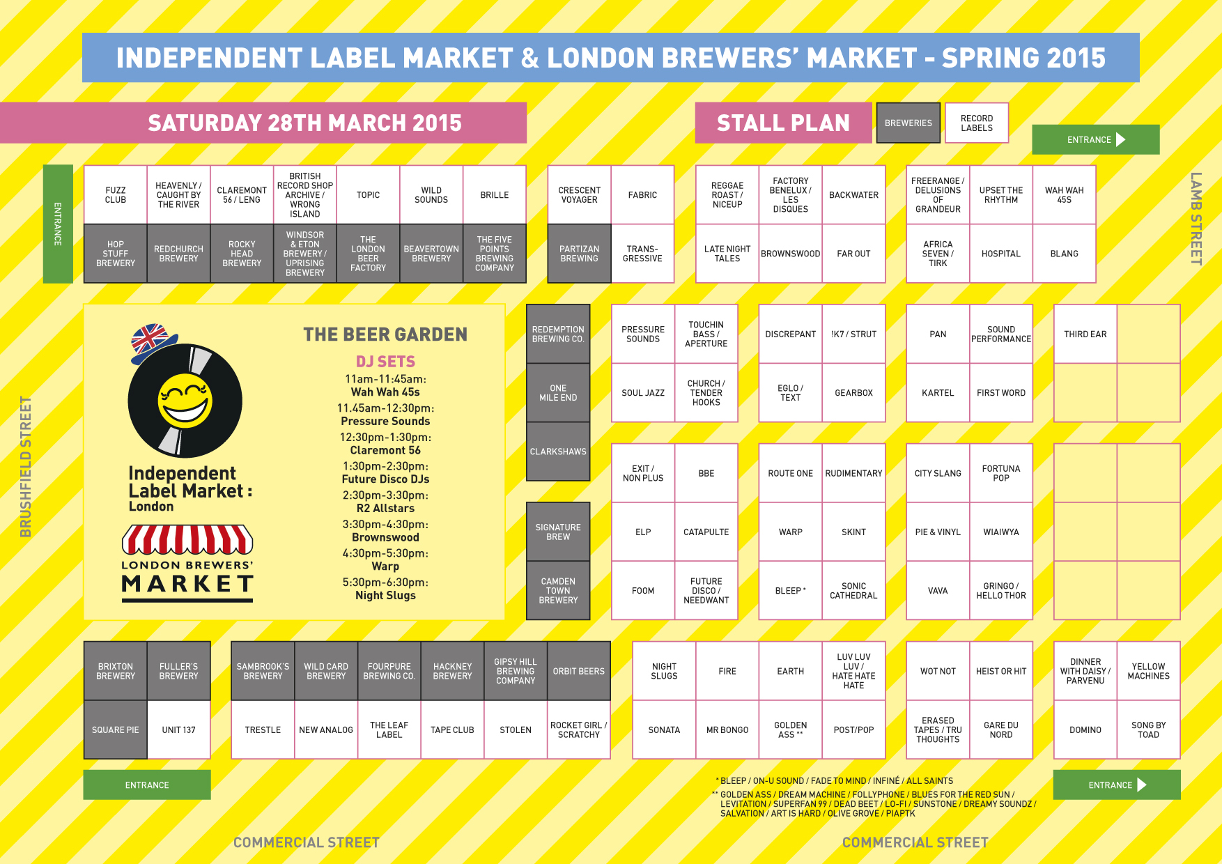 Independent Label Market, Easter, 2015, London, Spitalfields,