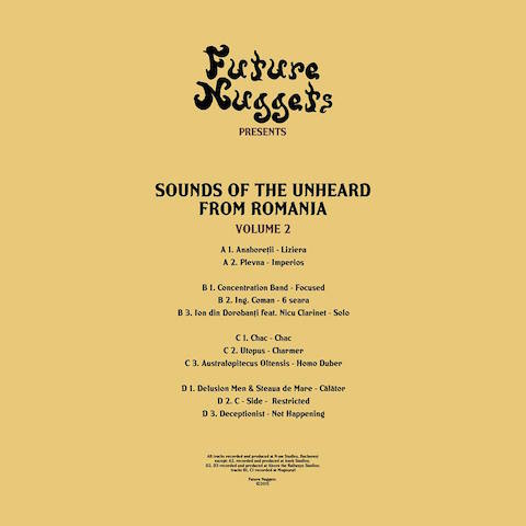 Test Pressing, Review, Dr Rob, Future Nuggets, Sounds Of The Unheard Romania, Volume 2