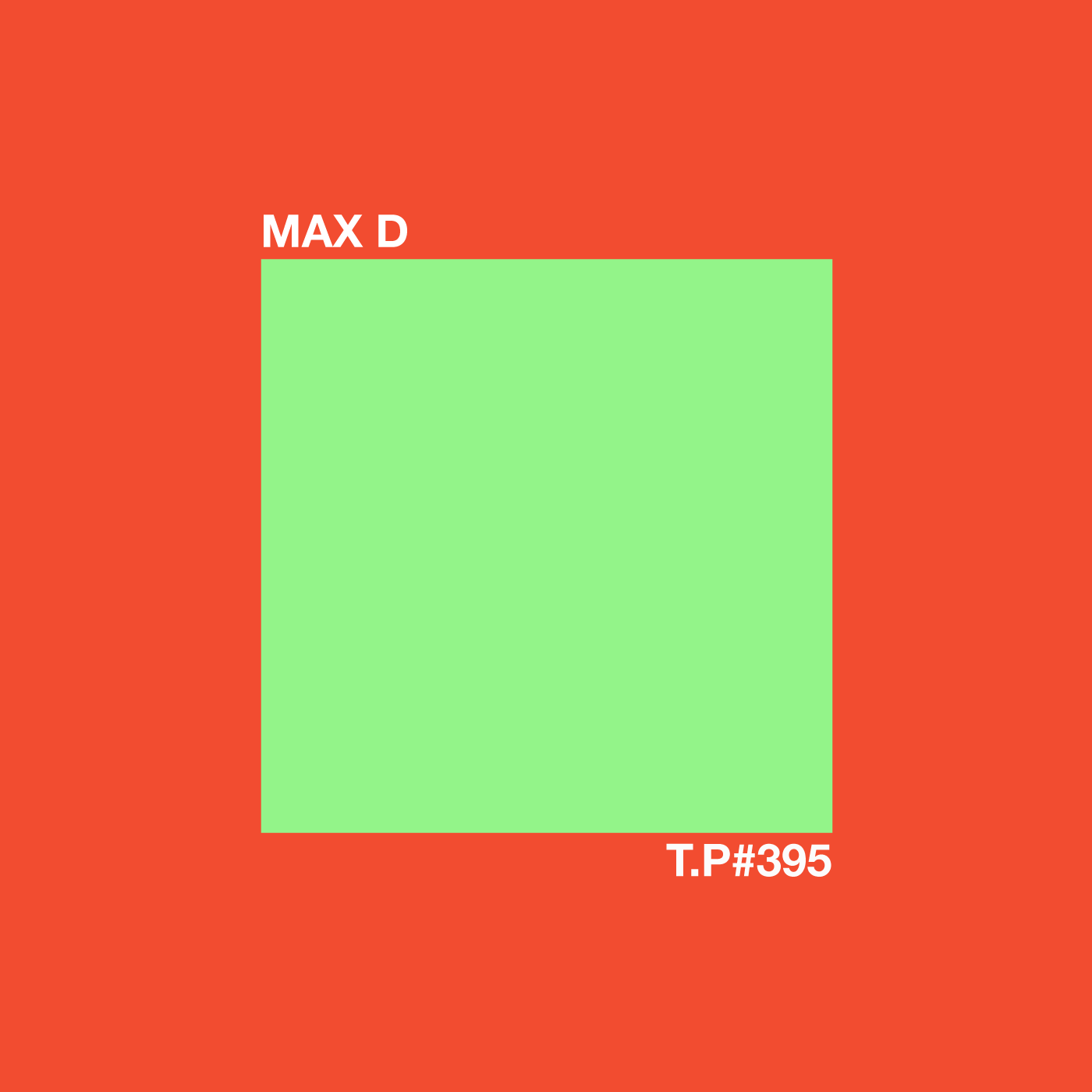 Max D, Maxmillion Dunbar, Beautiful Swimmers, Test Pressing, Mix