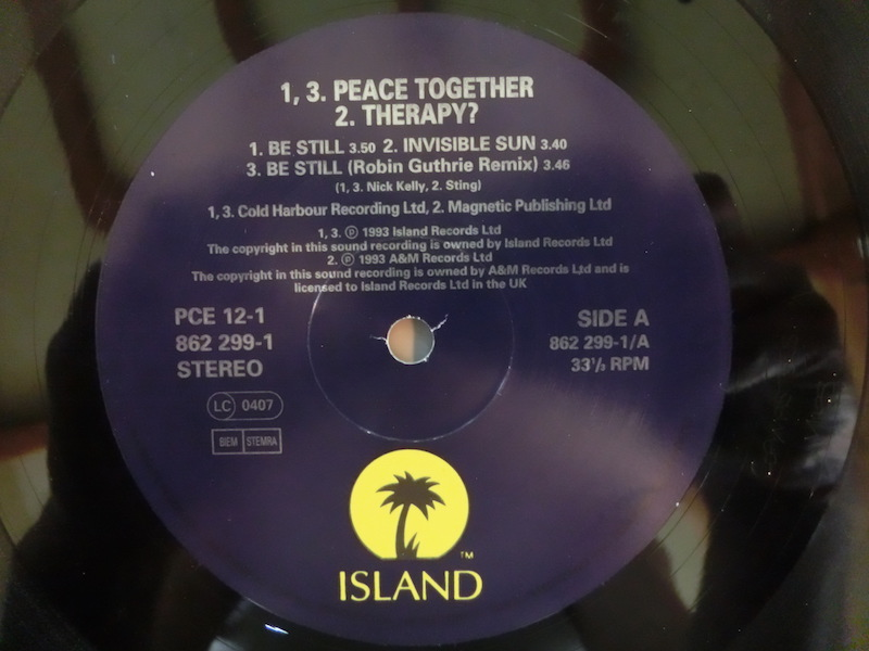 Test Pressing, Review, Dr Rob, Out Of The Box, Be Still, Peace Together, Robin Guthrie, Liz Frasier, Sinead O`Connor, Jah Wobble