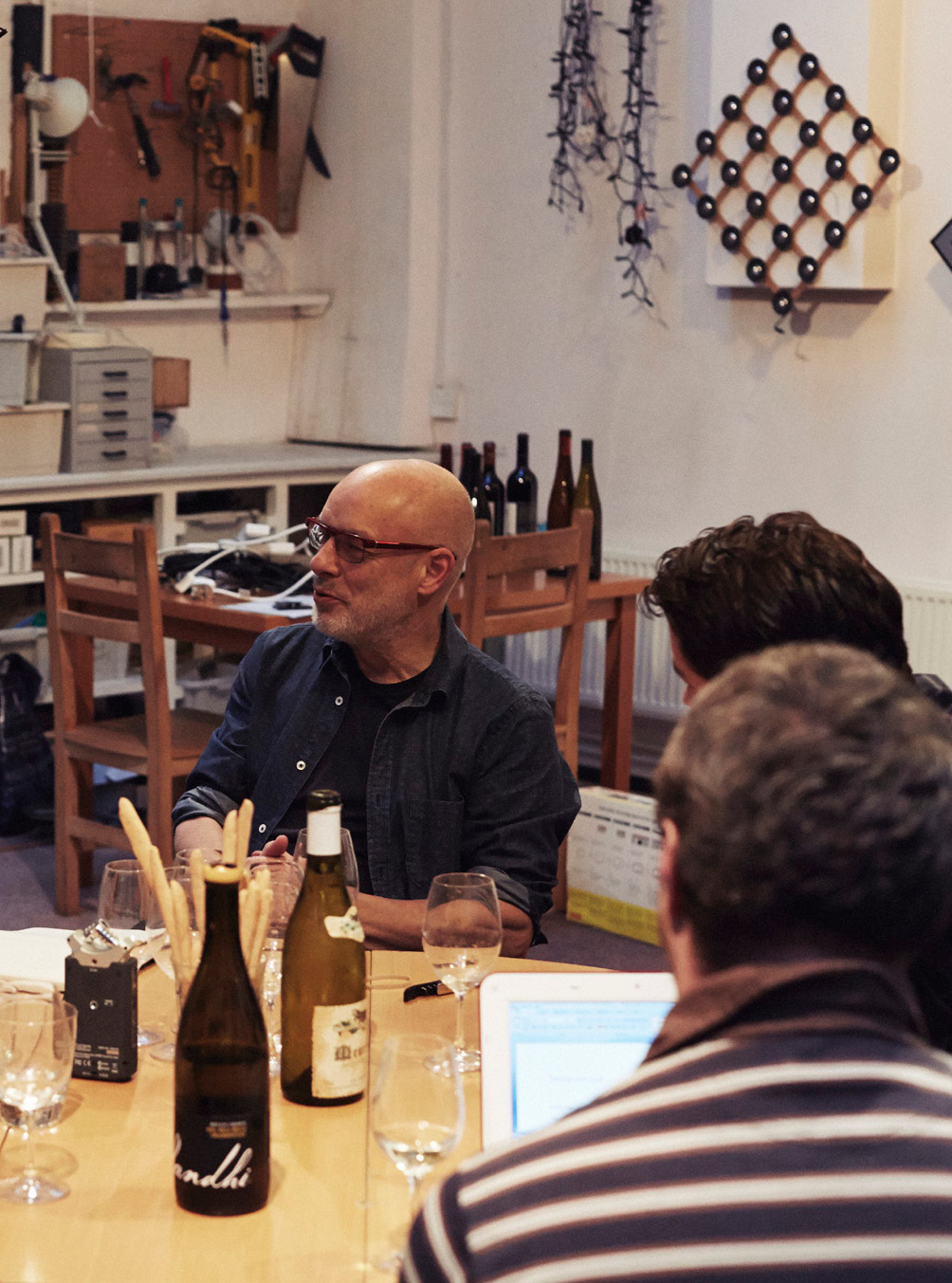 Brian Eno, Noble Rot, Wine Tasting, Magazine, Test Pressing