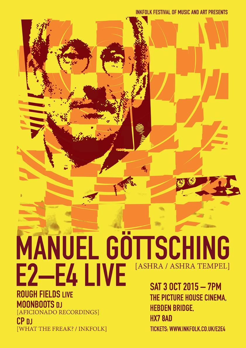 infolk, manuel Gottsching, e2 e4, live, hebden bridge,