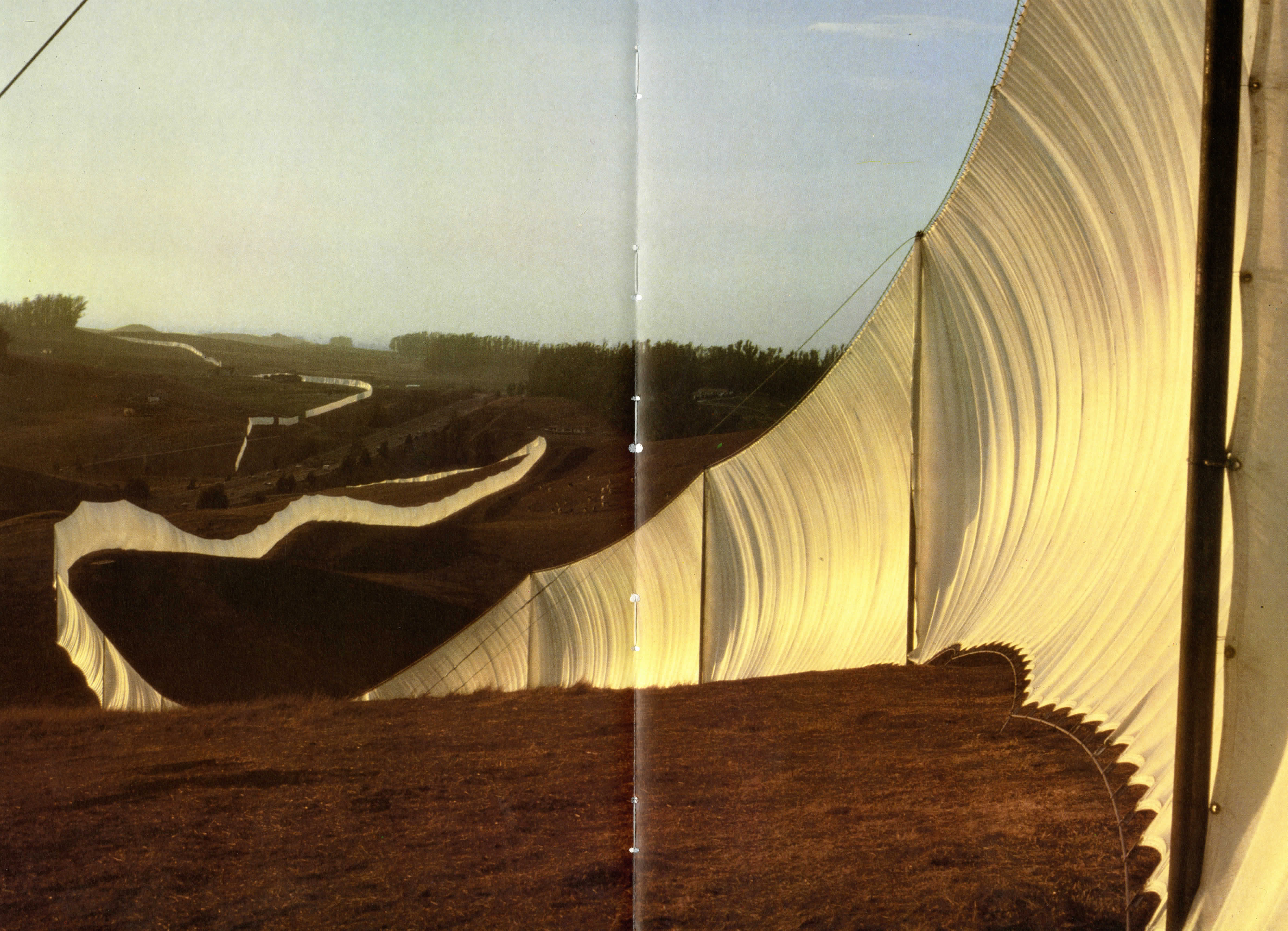 The Library, Christo, Rizzoli New York, Books, Marina Vaizey, Published 1990, Test Pressing