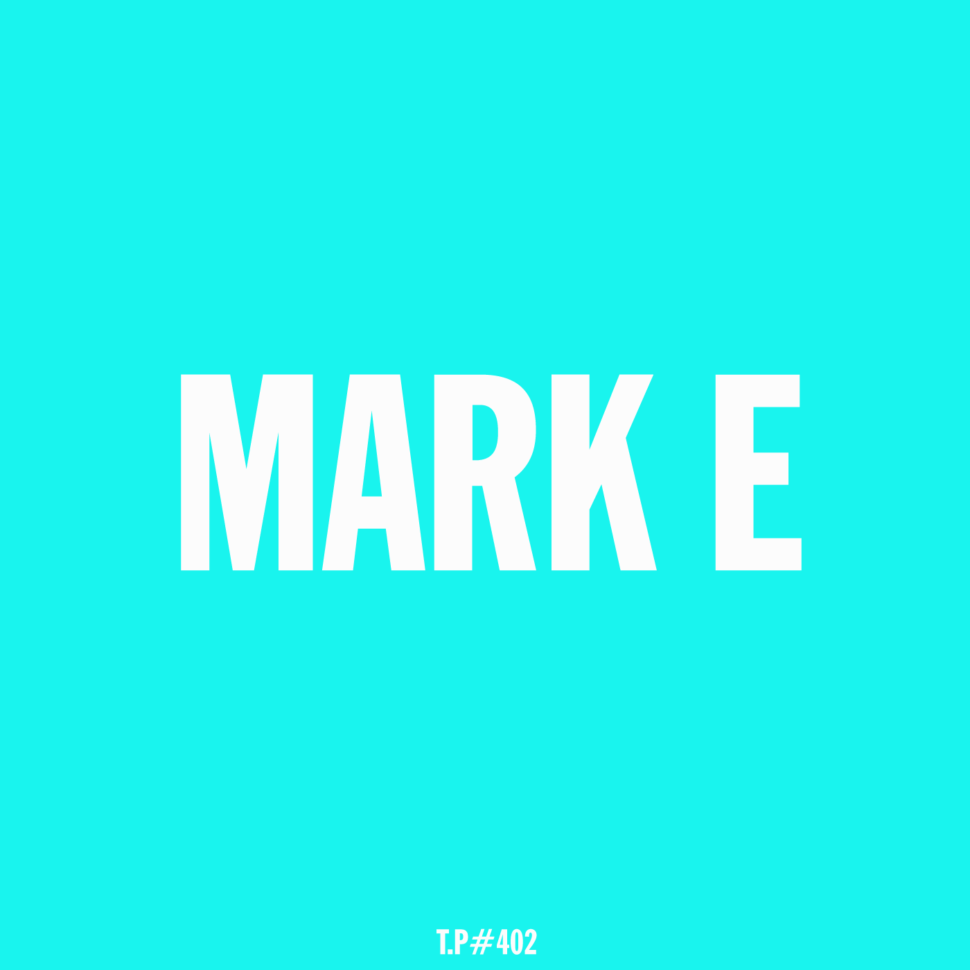Mark E, Mix, Test Pressing, Disco, Mellow, Electronic, Deep, Love