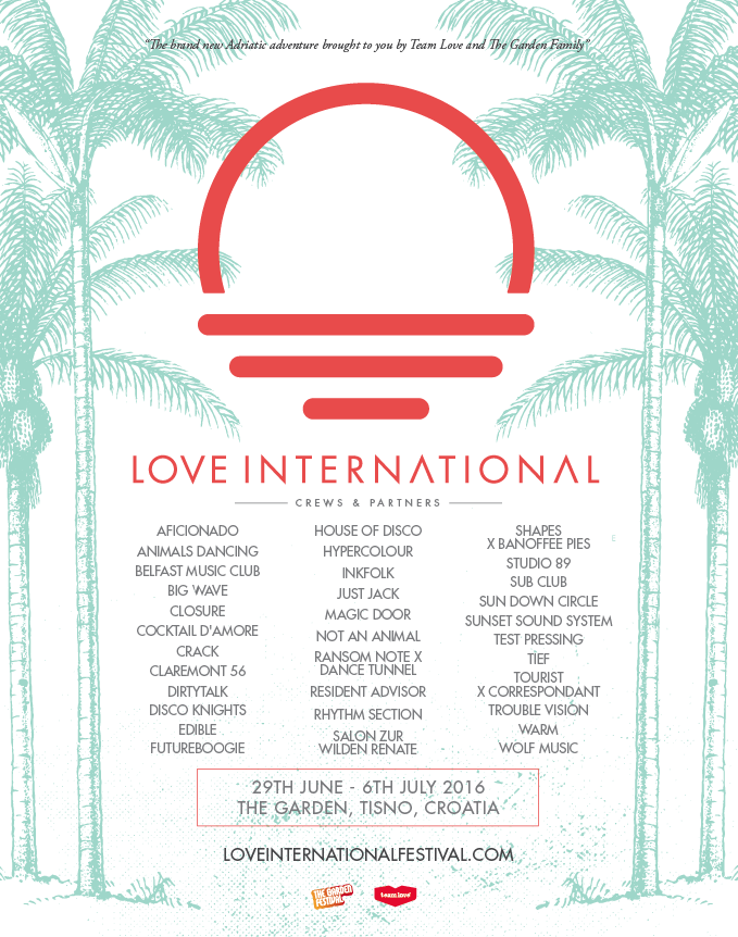 Love International, Croatia, Test Pressing, Festival