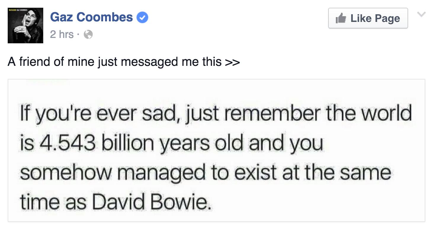 David Bowie, Tribute, Test Pressing. Journalists, DJs, Bands, Fans