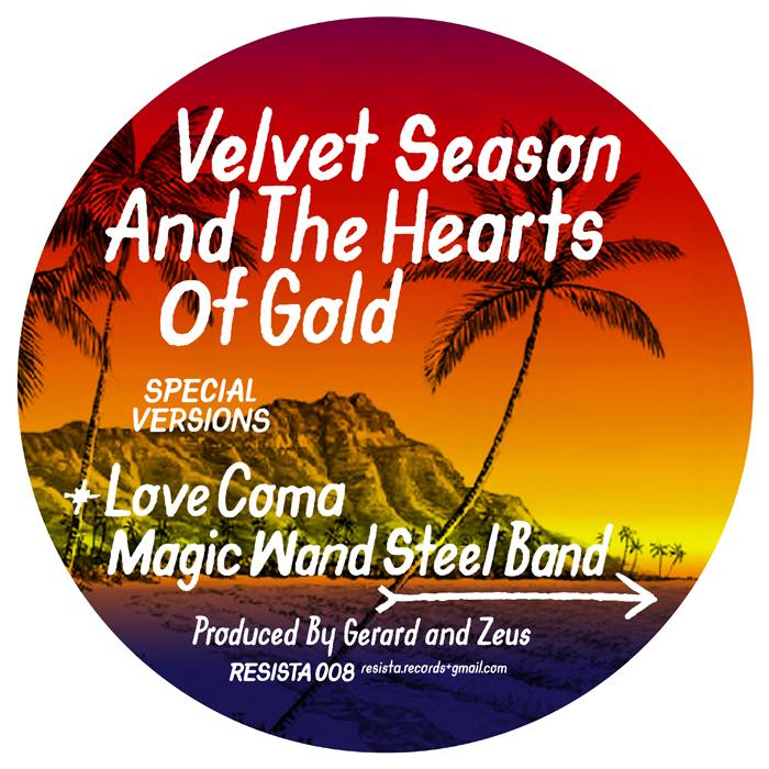 Velvet Season & The Heart of Gold, Love Coma, Test Pressing, Review