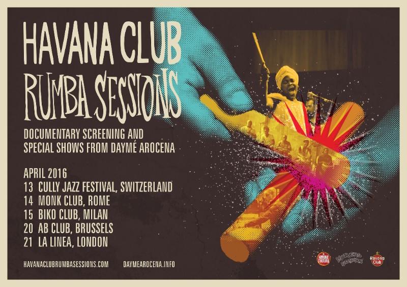 Daymé Arocena, Brownswood, Gilles Peterson, Havana Rum, Havana Cultura, La Clave, Charlie Inman, Havana Club Rumba Sessions