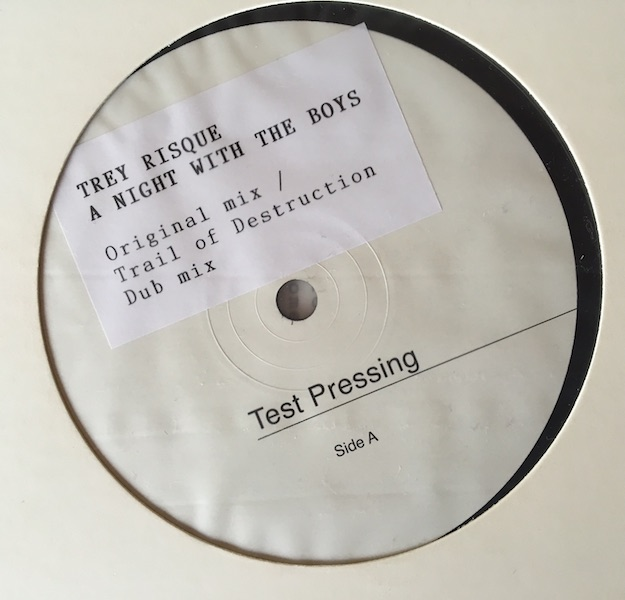 Test Pressing, Review, Dr Rob, Trey Risque, Parkway Records, Jus`Wax, Mark Seven, A Night With The Boys