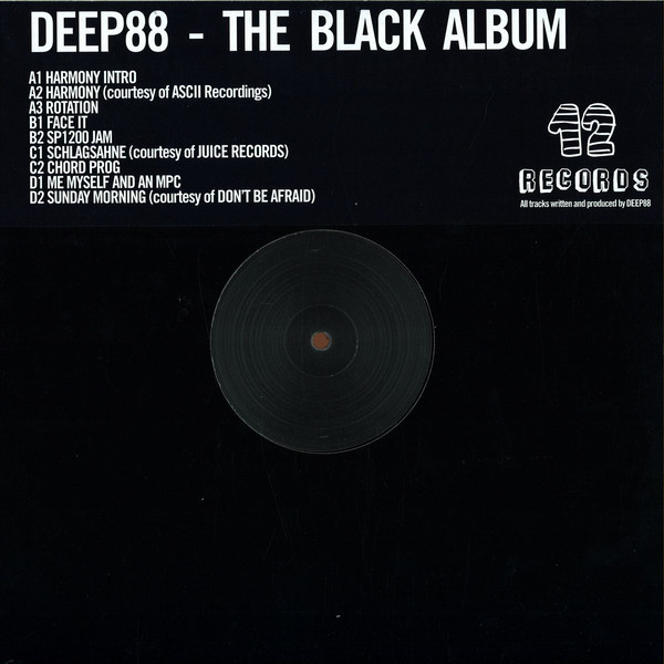 Test Pressing, Review, Dr Rob, Deep 88, 12 Records, Italy, Berlin, Black Album