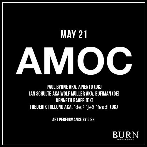 Amoc, Kenneth Bager, Wolf Muller, Apiento, Copenhagen