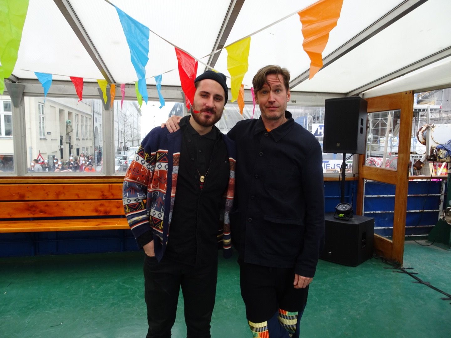 Kenneth Bager, COMA, AMOC, Copenhagen, Denmark, 2016,  Wolf Müller, Apiento, DISH, Trine Lindegaard, 2016, Party, Boat Party