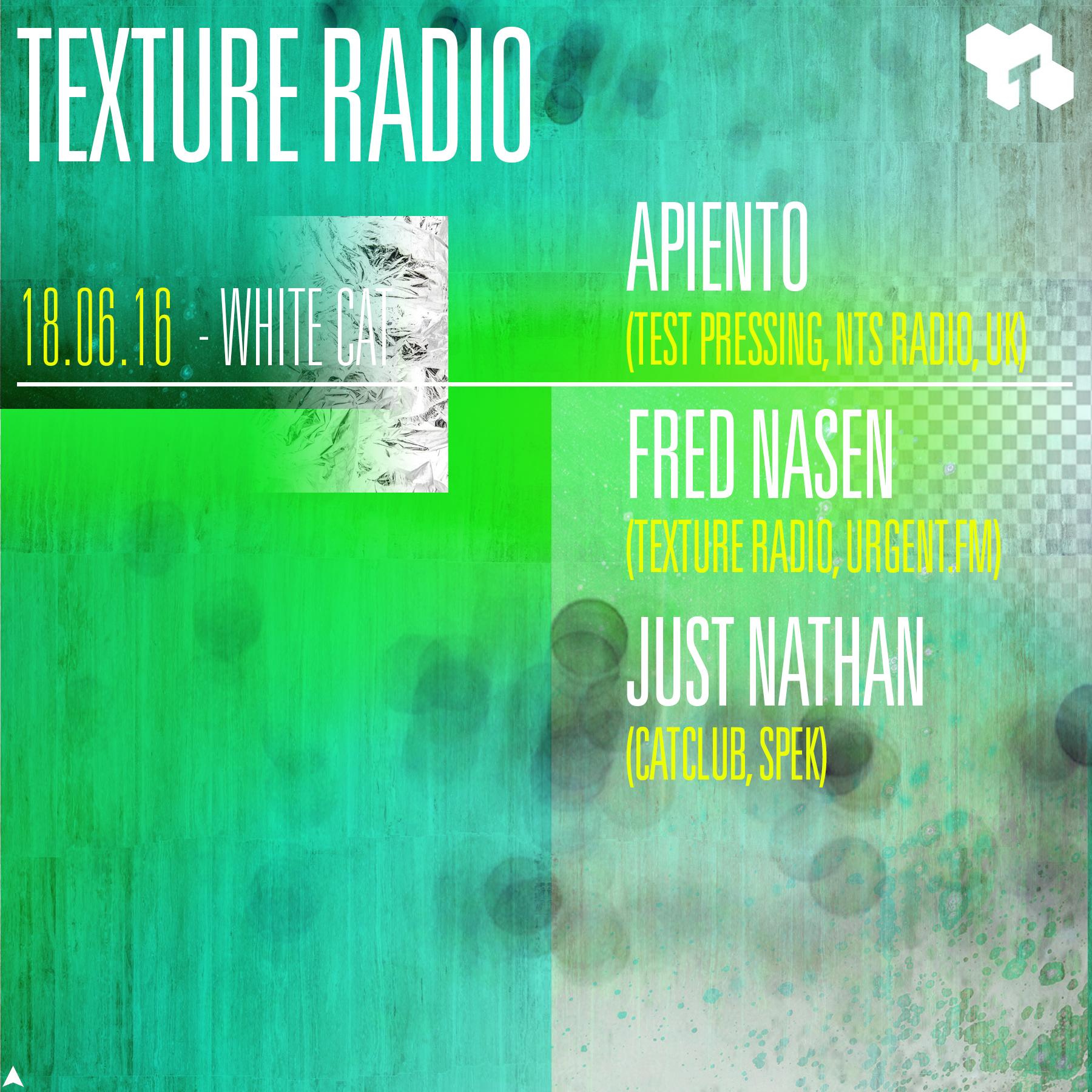 Apiento, Fred Nasen, Just Nathan, Gent, White Cat,