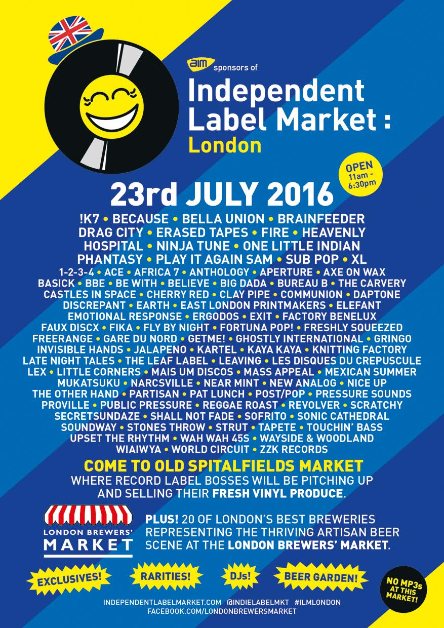Independent Label Market, 23/07/16