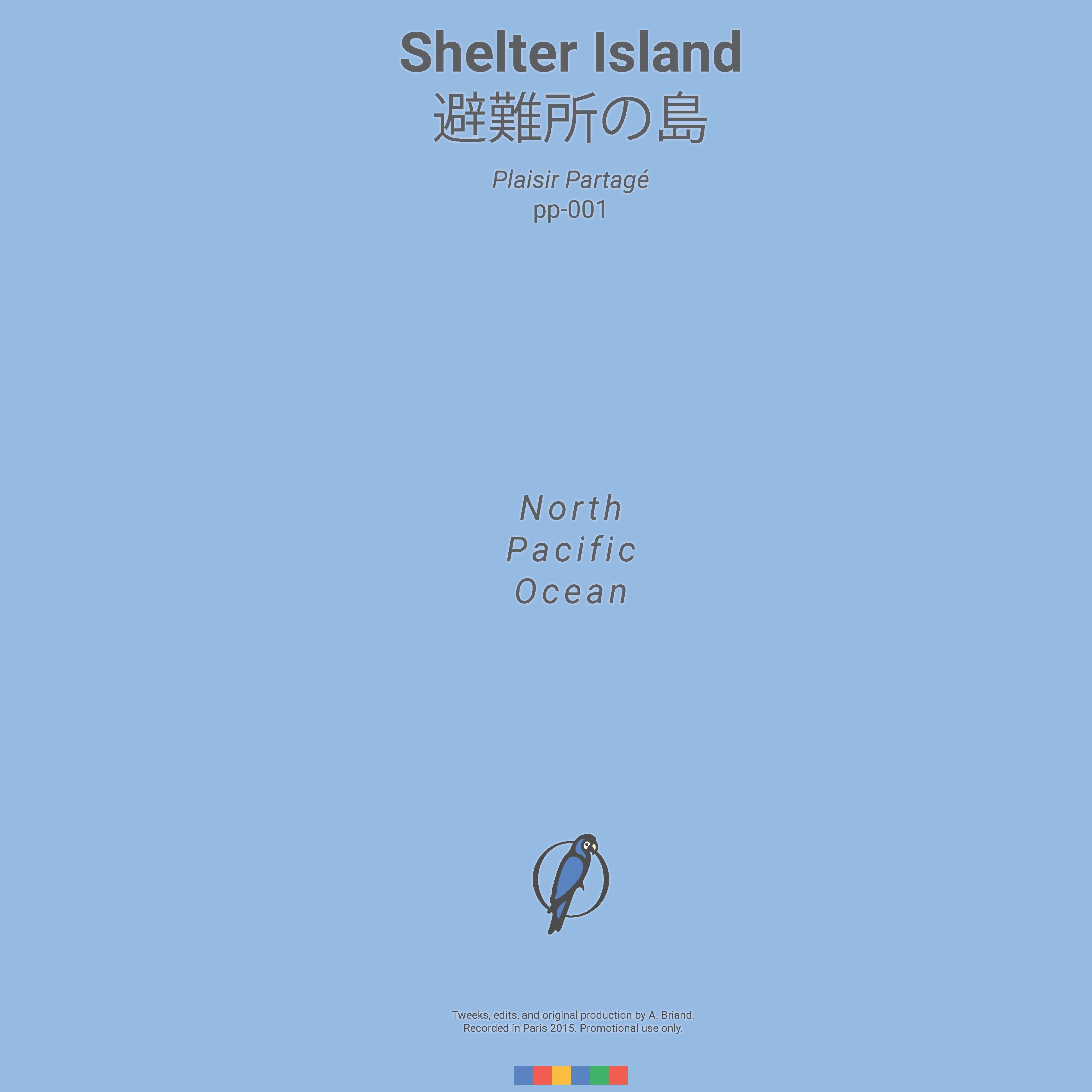 Alan Briand, Paris, France, Shelter Island, Plaisir Partagé 001, L'International Records, France,