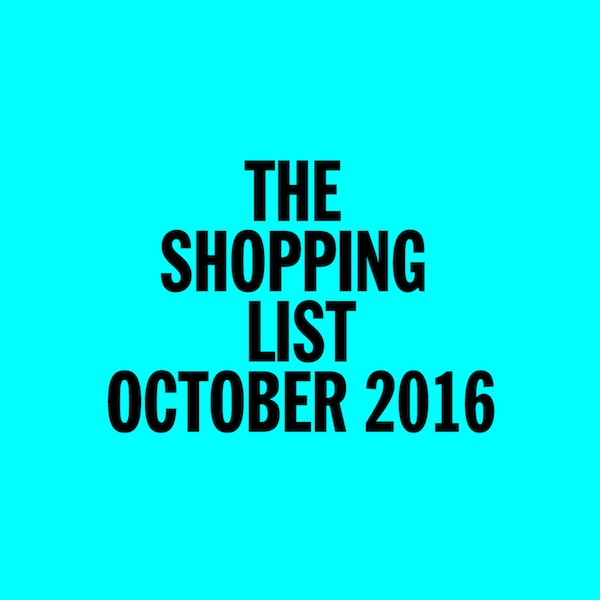 Test Pressing, Mix, Dr Rob, The Shopping List, October, 2016