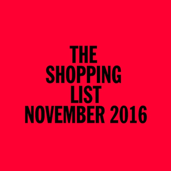 Test Pressing, Dr Rob, Mix, The Shopping List, November 2016