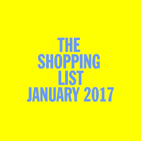 Test Pressing, Dr Rob, The Shopping List, January, 2017,